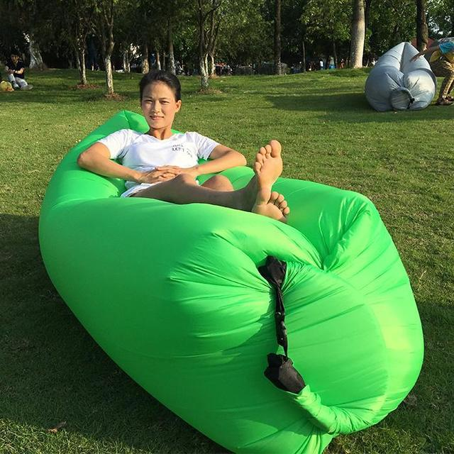 Air Sofa Inflatable Folding Sleeping Lazy Bag Waterproof