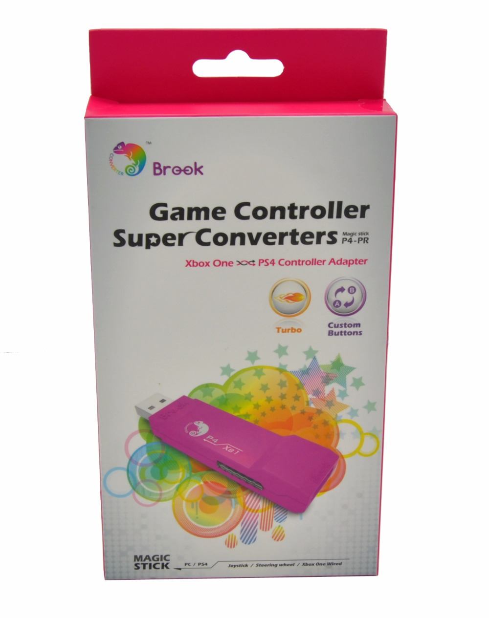 Brook USB Game Converter for Xbox ONE to PS4 Controller Converter Adapter use XBOXONE Wired Gamepad