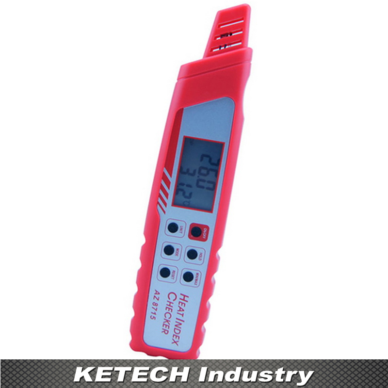 AZ-8715 Pen Weather Detection Meter Temperature Humidity Barometer Tester