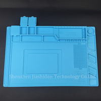 S 160 45x30cm Heat Insulation Silicone Pad Desk Mat Maintenance Platform For BGA Soldering Repair Station