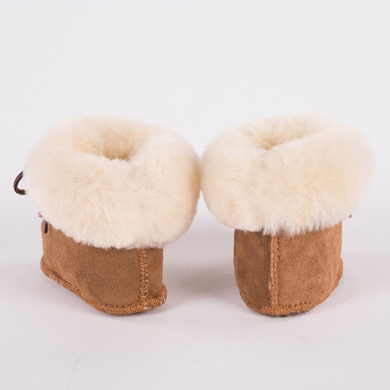 7a908b589 FUR123 Winter Genuine Leather Baby Shoes Boots Infants Warm Shoes Sheepskin  Fur Wool Girls Baby Booties Sheepskin boy baby boots Tags: