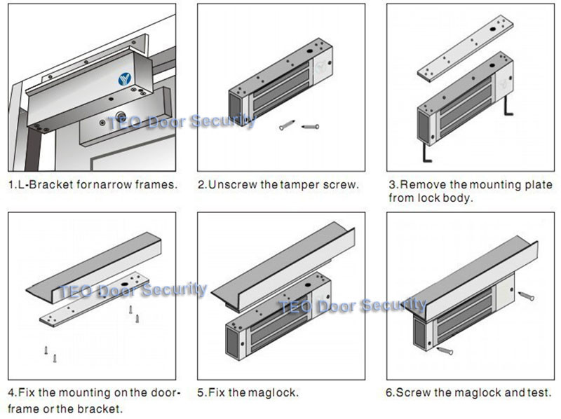 Magnetic-Lock-installation