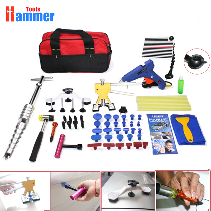 PDR Tools Paintless Dent Repair Tools slide hammer Removal Dent Puller Tool Kit Reflector BoardPDR Tools Paintless Dent Repair Tools slide hammer Removal Dent Puller Tool Kit Reflector Board