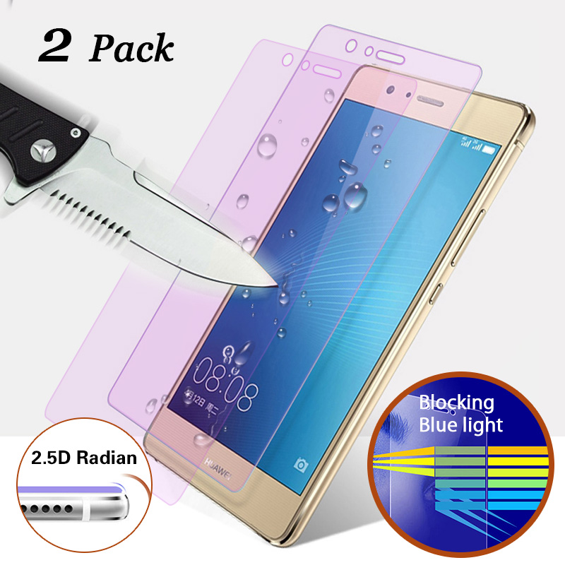 For Huawei Mate 9 tempered glass 2.5D Curved Edge <font><b>Blu-ray</b></font> Barrier Screen Protector For Huawei Mate 8 Glass Huawei Nova 2 Packs
