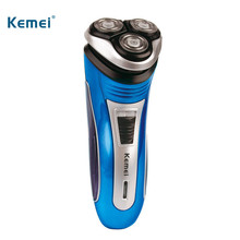 Kemei profession Electric Shaver Smart 3D Triple Floating Blade Rechargeable