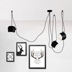 Moderne Kronleuchter Beleuchtung Küche Leuchten Tisch Hängelampe Hause  Beleuchtung Droplights Trommel LED Anhänger Lampen