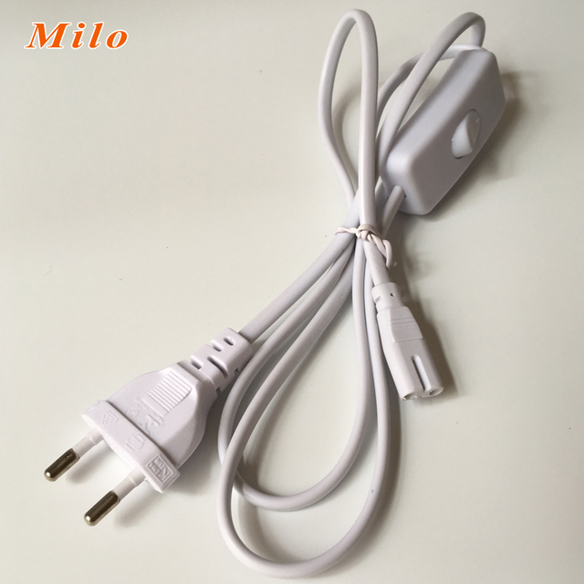 1.2 mètres t5 connecteur cordon d'alimentation de l'ue et ... - Cable D Alimentation Electrique Pour Maison