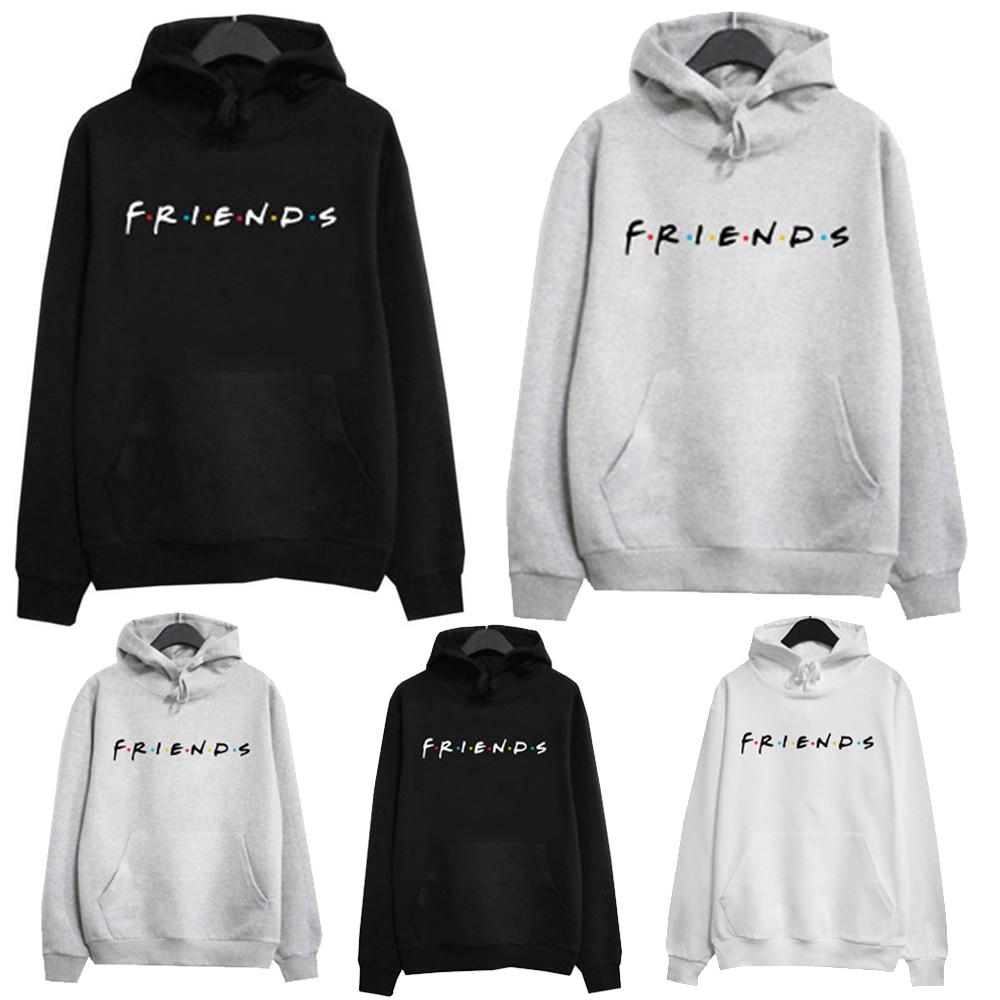 HTB1ou5ESwHqK1RjSZJnq6zNLpXaZ New Plus Size Streetwear Womens FRIENDS Print Hoodie Hoody Sweatshirt Ladies Pullover JumperMen Hoodies