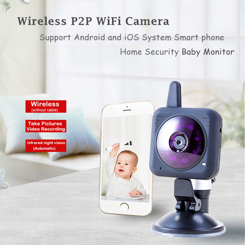 Home video surveillance WiFi Baby Monitor Wireless Baby camera Night Vision P2P web cam surveillance WiFi Camera wifi web cam