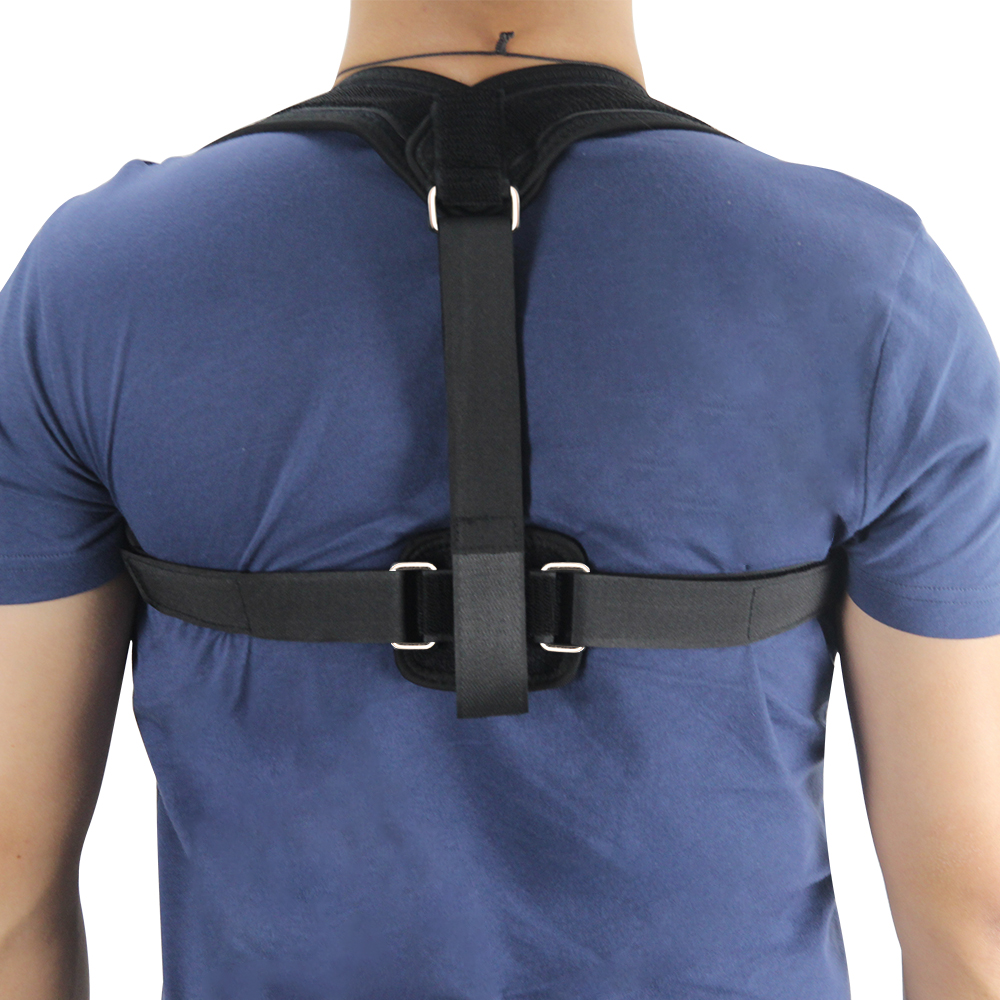 Nova Ombro Bandage Corset Voltar Ortopédica Brace Posture Corrector Escoliose Cinto Suporte Para as Costas para o Homem Mulher
