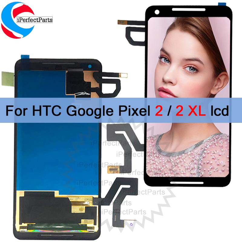amoled 6 0 For HTC Google Pixel 2 XL 2xl LCD Display Touch Screen Digitizer Assembly