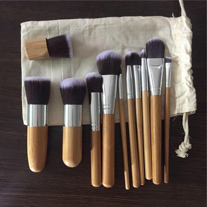 bamboo makeup brush set11