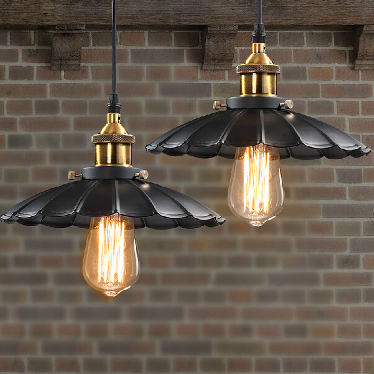 Nordic Industrial Loft Creative Personality Pendant Light & Edison Vintage Bulbs E27 Lights Home/Bar/Cafe Decorative Lighting mordern nordic retro edison bulb light chandelier vintage loft antique adjustable diy e27 art spider ceiling lamp fixture lights