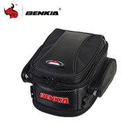 BENKIA Motorcycle Bag Motorcycle Tail Bag Back Seat Luggage Bags Saddlebag Motorcycle Riding Travel Luggage Handbag