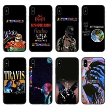 Travis scott phone cases astroworld sicko mode for iPhone 5 5S SE 6 6S Plus 7 8 X10 XR XS MAX black Hard PC cover