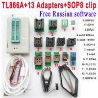 TL866 TL866A Programmer AVR PIC Bios 51 MCU Flash Minipro High Speed USB Universal SOIC8 SOP8