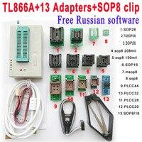 TL866 TL866A Programmer AVR PIC Bios 51 MCU Flash Minipro High Speed USB Universal SOIC8 SOP8