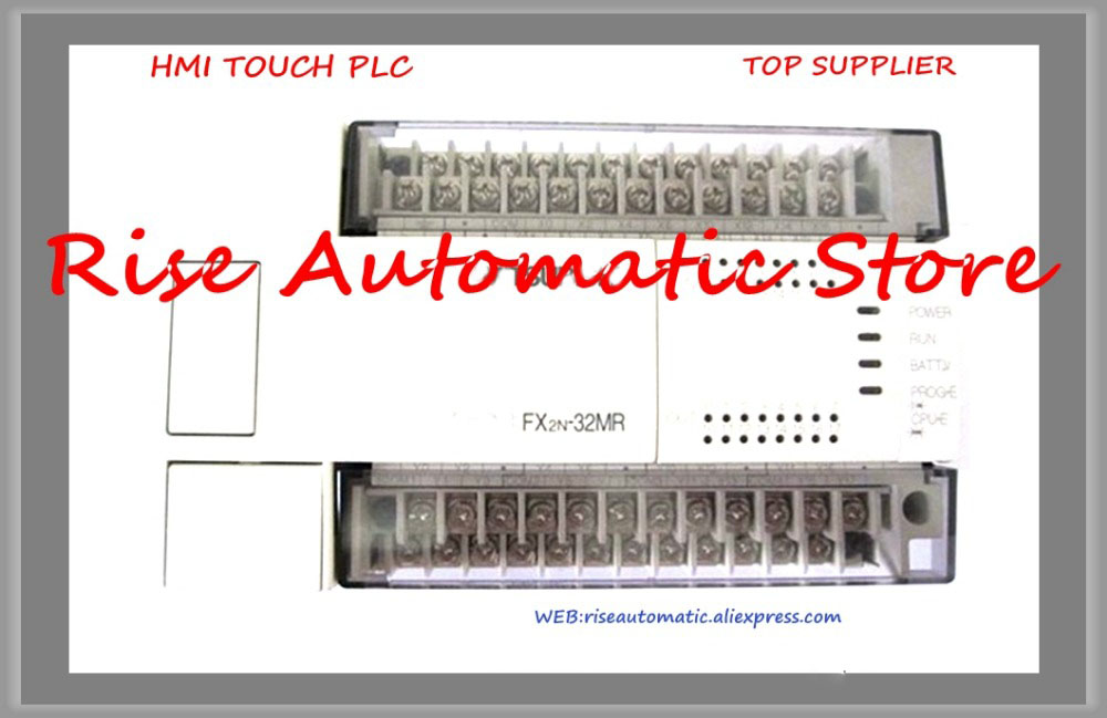 New Original Programmable Logic Controller FX2N-32MR-ES-UL FX2N-32MR-D PLC Main Unit DI 16 DO 16 Relay DC 24V
