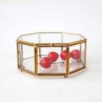 Jewelry box glass jewelry storage box gifts