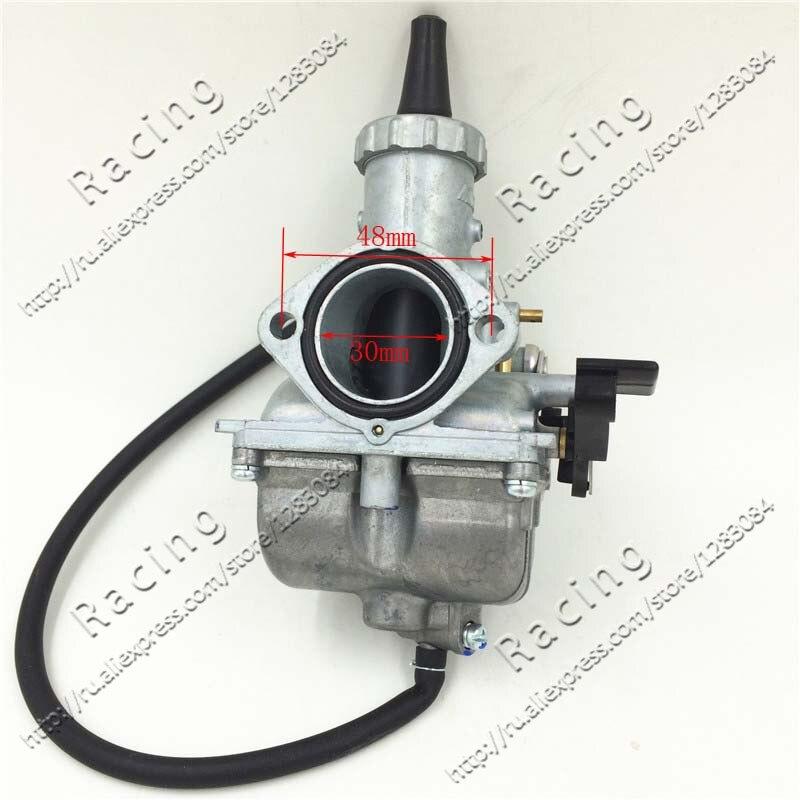 Choke main VM26 PZ30 30mm Carburateur Carb Pour Moto Motocross Dirt Pit Bike ATV QUAD 200cc 250cc Livraison Gratuite