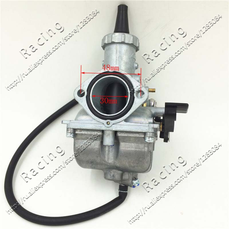 Hand Choke Vm26 Pz30 30mm Carburetor Carb For Motorcycle Motocross