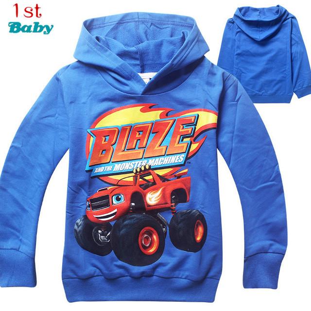 Nueva 2016 camiseta de los muchachos camisetas niños bebé Incendio Y Las Máquinas Monstruosas niños ropa ropa roupas infantis menino