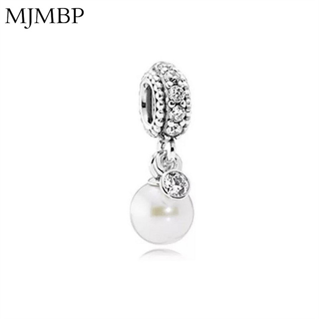 Crystal Pearl Flower DIY Pendant Charms Nice Fashion Beads Fit Pandoraa Gift For Bracelet & Necklaces Jewelry making Women Gifts
