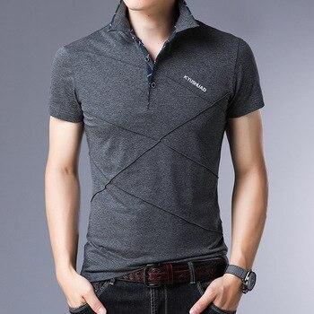 חולצה לגבר סגנון פולו במבעים לבחירה