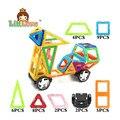 36 unids/lote motocicleta diseñador modelo diy 3d enlighten educación magnética bloques de construcción magnética juguetes de los ladrillos de regalo de cumpleaños