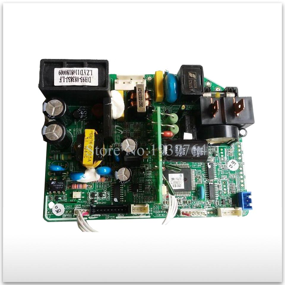 95% new for Air conditioning computer board DB93-08383J-LF PC board good working wire universal board computer board six lines 0040400256 0040400257 used disassemble