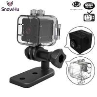 SnowHu SQ12 방수 미니 카메라 HD 1080 마력 DVR 렌즈 스포츠 비디오 카메라 광각 미니 캠코더 PK SQ8 SQ9 Q11