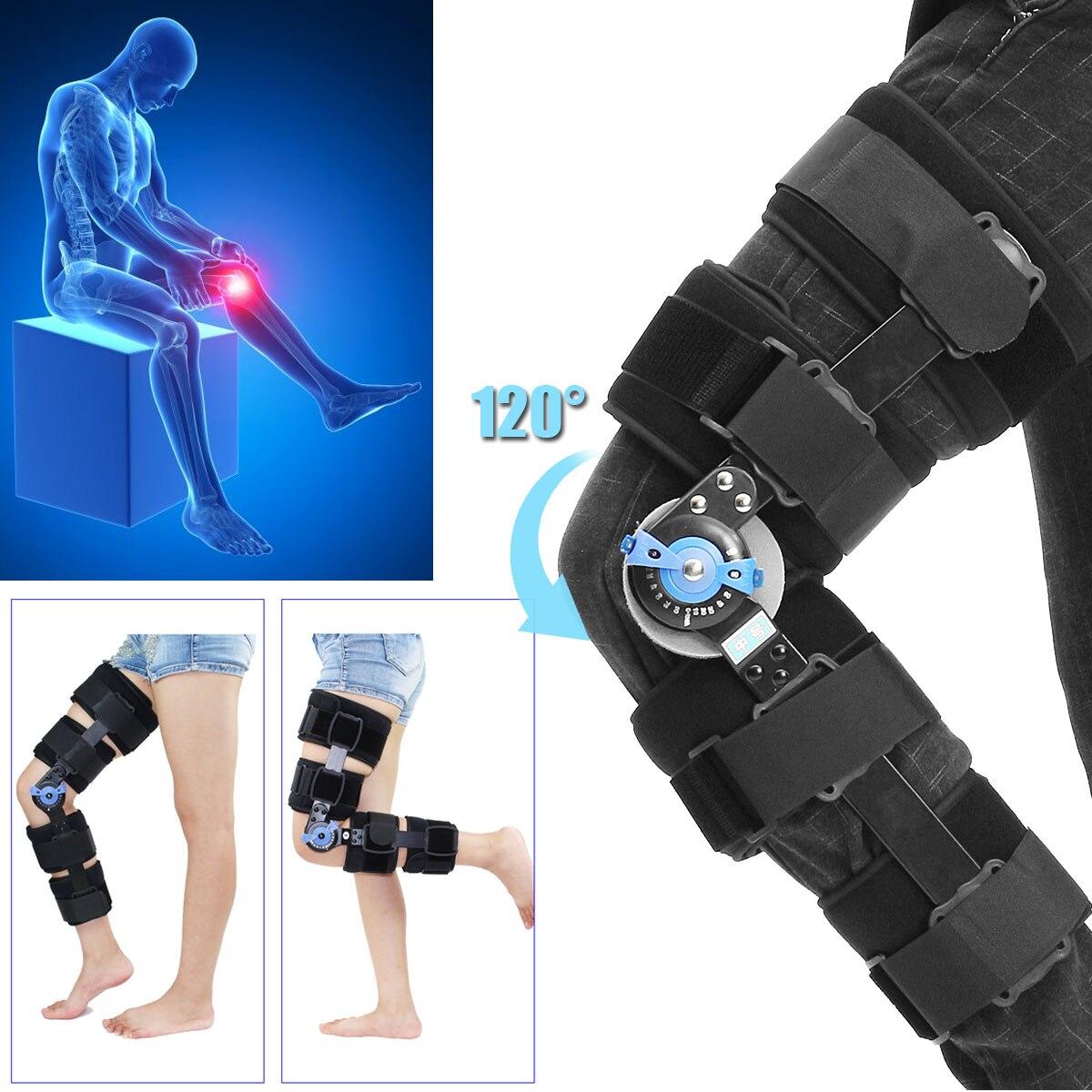 KIFIT Medical T-Scope Stabilisator Seil-bügel-verpackung Knieorthese Einstellbare Klapp Bein Supportor Hosenträger & Unterstützt