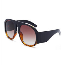 New Arrival Large Big Box Sunglasses Fashion Trend Eyeglasses Cool Street Eyewear For Men