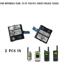 2PCS walkie talkie radio Battery for Motorola T3 T7 T8 XTR446 TLKR T50 T60 T70 T80