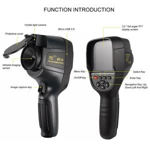 Image 4 - 2020 новый реалистичный инфракрасный термометр портативная тепловизионная камера HT 18 портативная IR тепловизор камера HT18 220*160