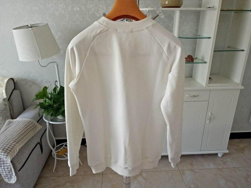 2018 women autumn winter long sleeve 100 cotton pullover sweatshirt H164