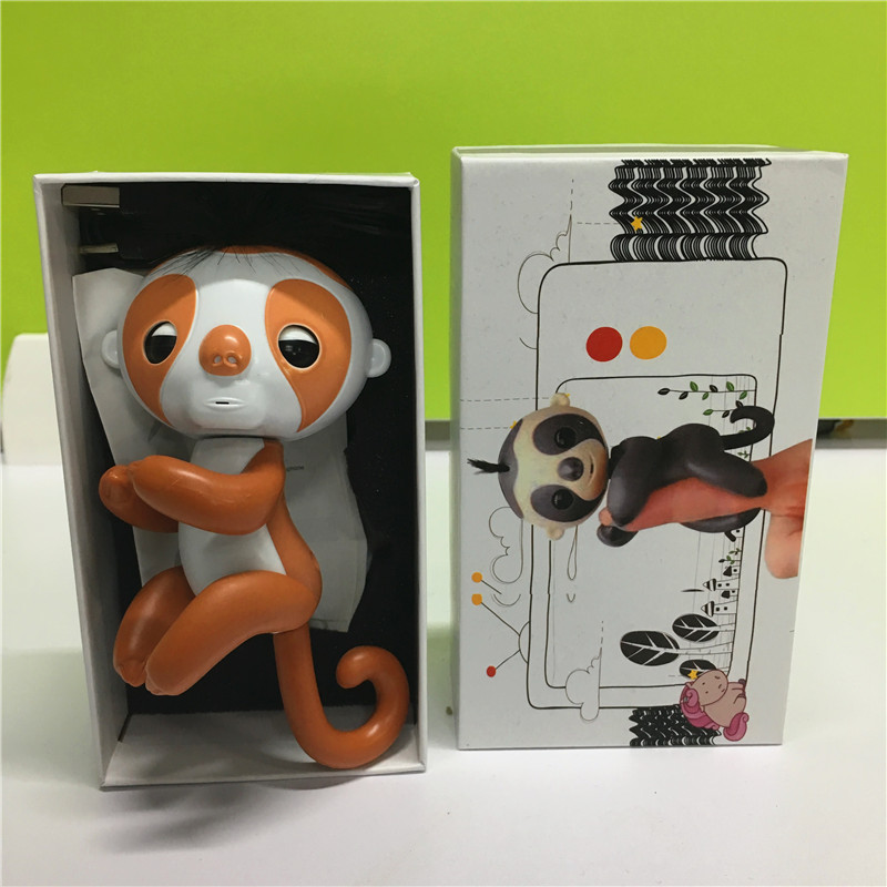 Finger-sloth-with-recording-function-with-charger-with-box-Cute-Smart-Colorful-Finger-monkey-Electronic-Pets-Christmas-Gift-Kid-3