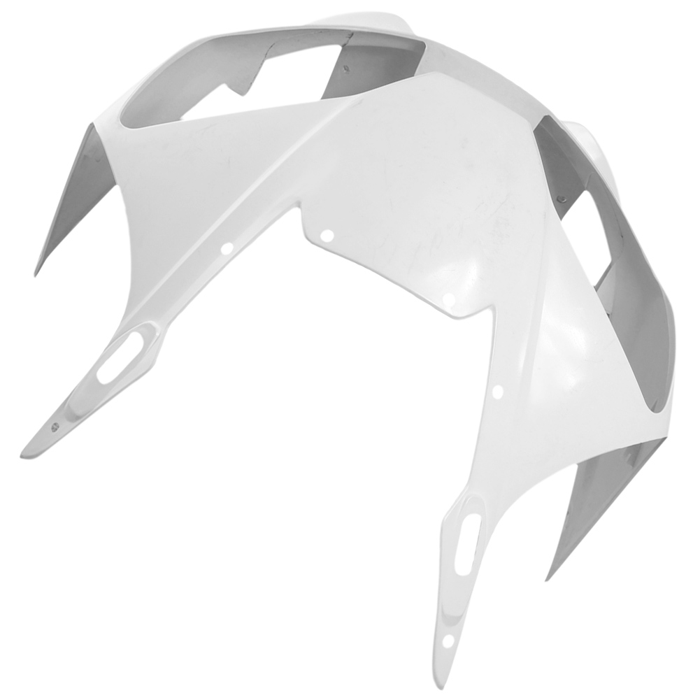 For Yamaha YZF R6 Upper Front Nose Fairing Cowl 1998-2002 Motorbike Part Accessories Injection Mold ABS Plastic Unpainted White