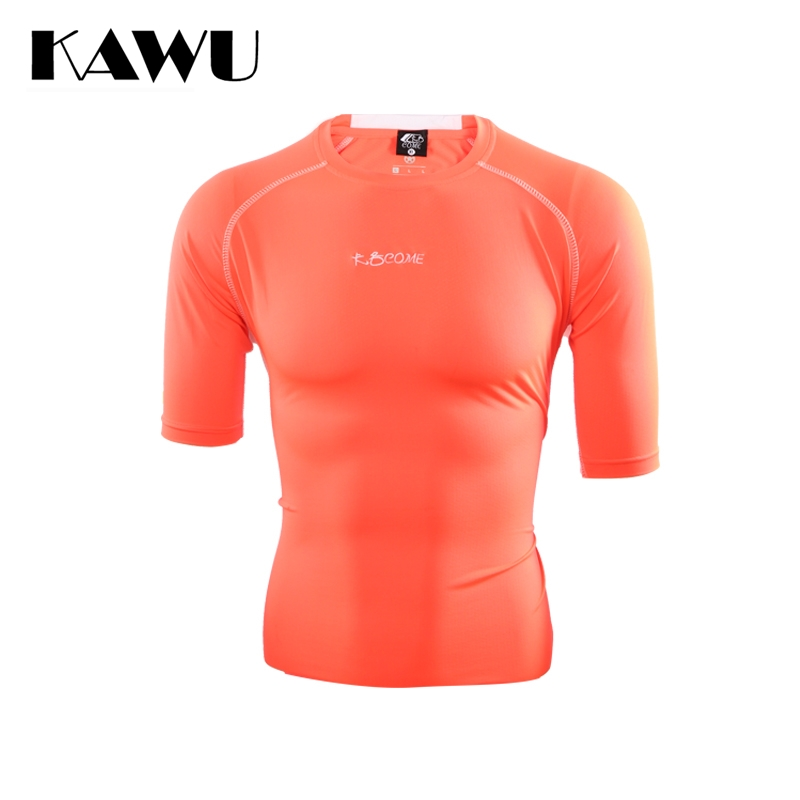 KAWU Four Colors Sport Running T Shirt Jersey Soccer Stripe Clothes Short Sleeve Sportwear Maillots De Football C17014