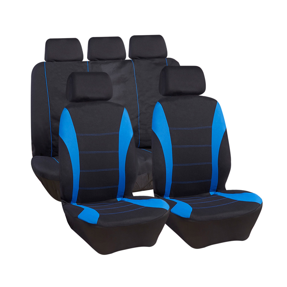Automobiles Seat Covers 9 pcs Auto Front Back Seat Protector For Cars Trucks Suvs Vans