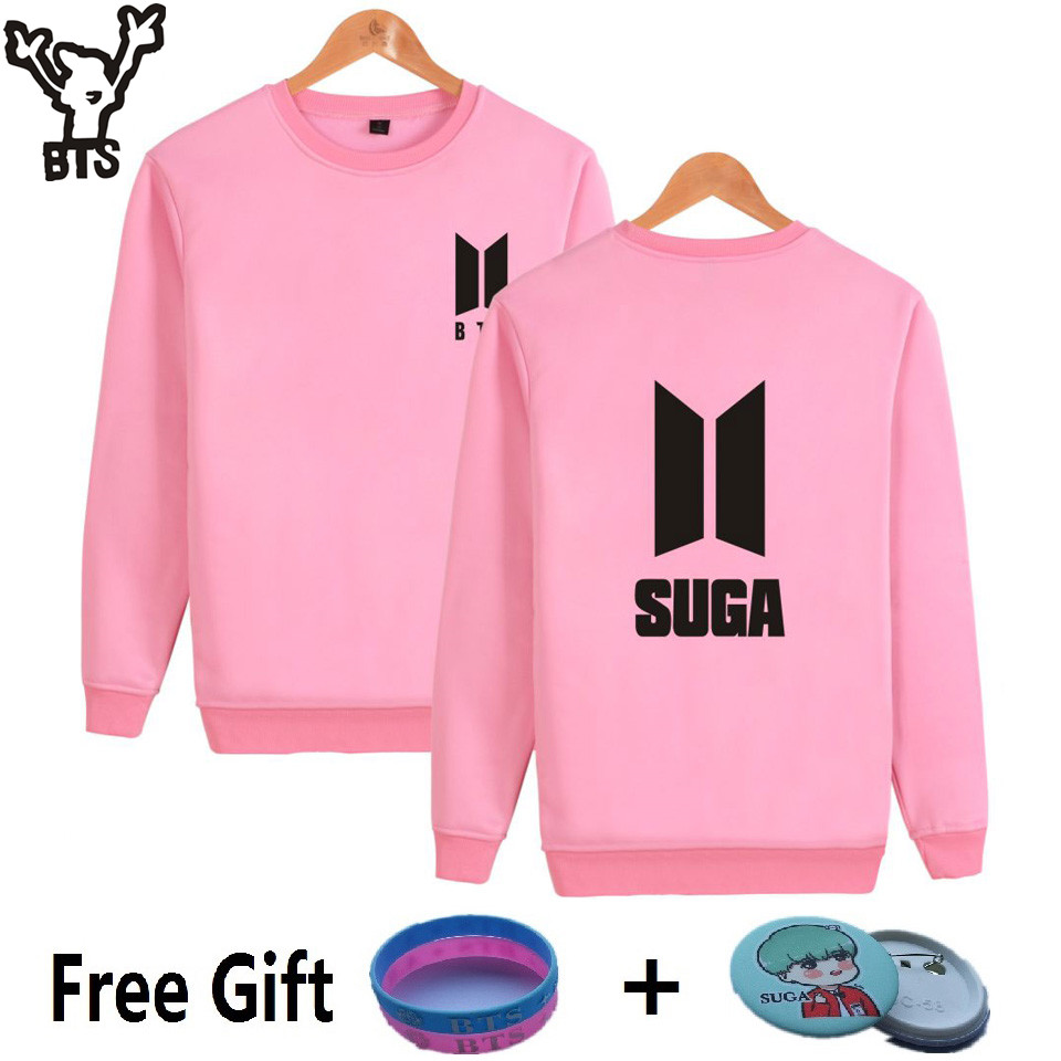 BTS K-pop Capless Harajuku Hoodies Women Popular Bangtan Boys Hip Hop Sweatshirt Women Long Sleeve Korea Kpop Fans Female Clothe