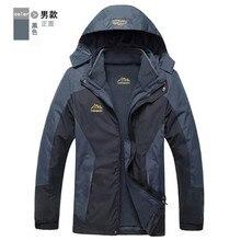 Winter Jacket Men Women 3 In 1 Warm Waterproof Windproof Men Outdoor Jacket Camping Softshell Jacket