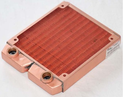 Fast Free Ship 120mm Full Red Copper Water Cooled Row Heat Exchanger Koolance Liquid-cooled Computer Cooling Radiators