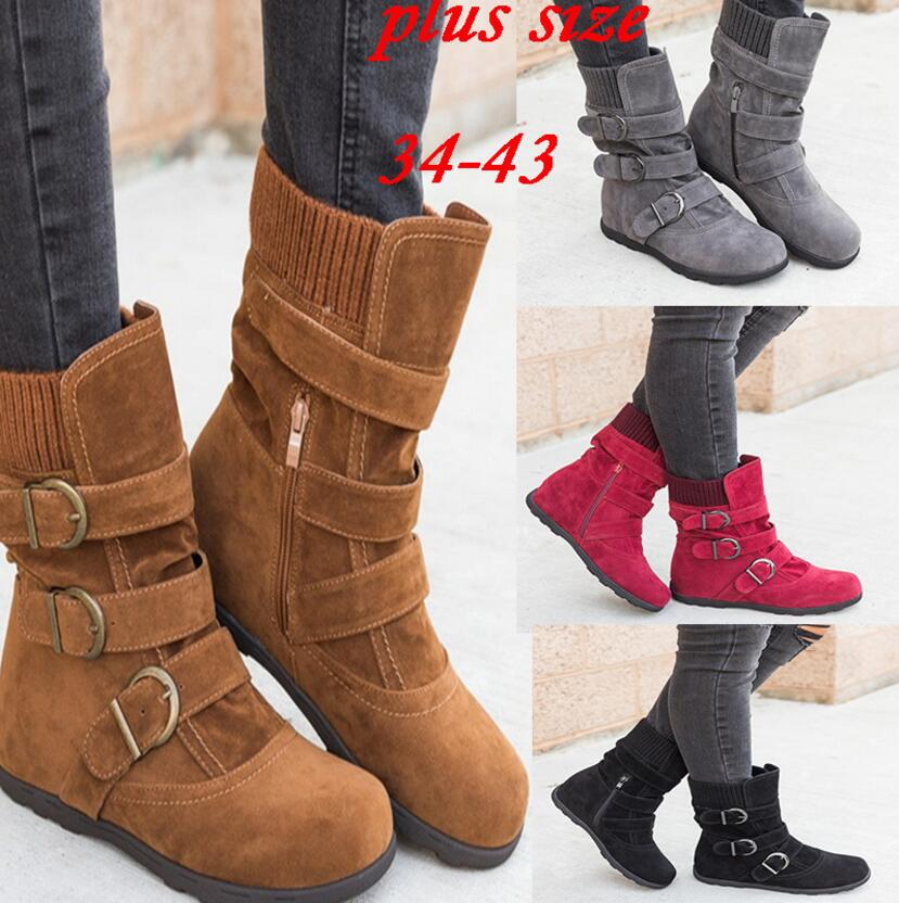 sapato-feminino-women-ankle-boots-chunky-low-heels-vintage-shoes-woman-gladiator-matte-PU-leather-rome (4)