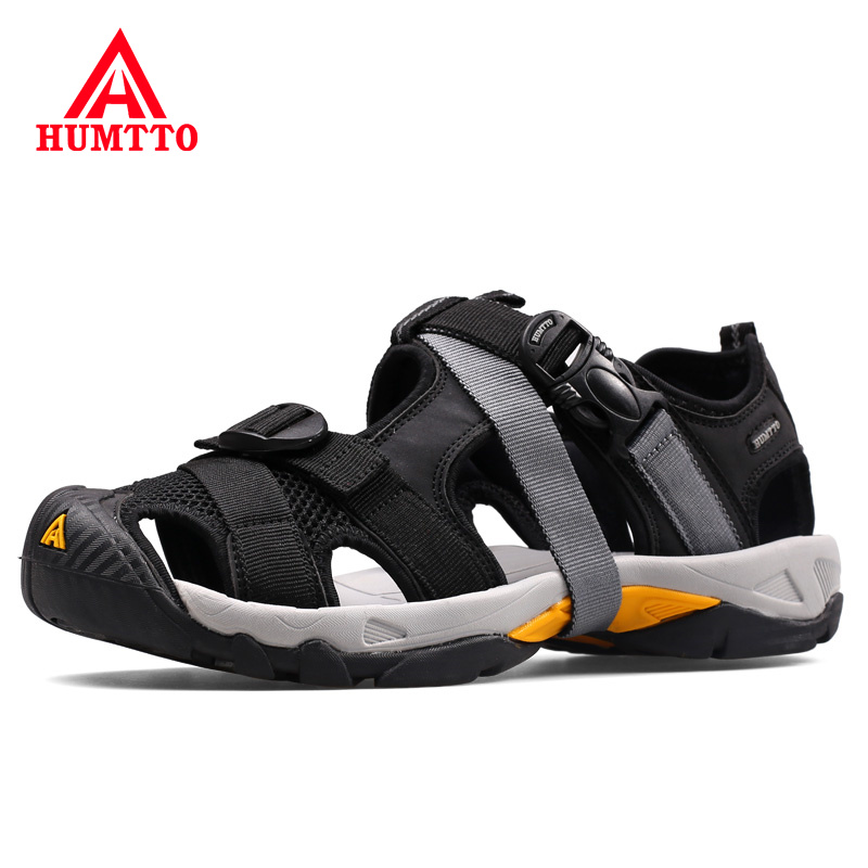 Summer Light Cushioning Outdoor Sandals Breathable Quick drying Man Beach Shoes Soft Non slip Wear Resistant