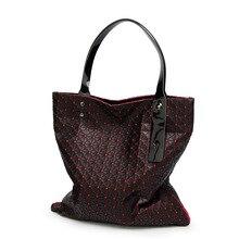 Bao Bao Diseñador Mujeres Plaid Bolso de la Alta Calidad 2016 Mujeres Marca de lujo Grande de asa Superior Bolsas de Hombro Del Totalizador Bolsas Sac principal