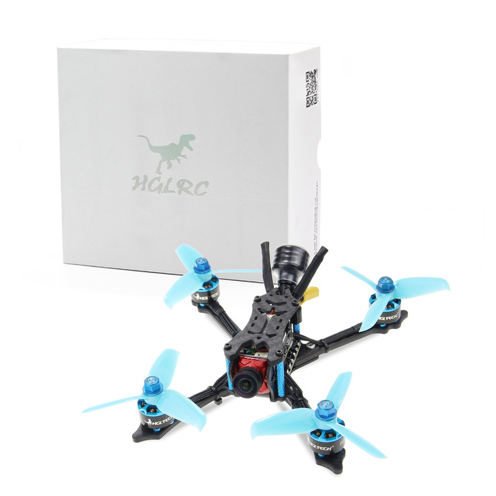 HGLRC Arrow 3 FPV Racing Drone 6S PNP Quadcopters F4 FC 1408 Motor 45A Blheli32 4 in 1 ESC 4mm Frame Caddx Ratel Camera