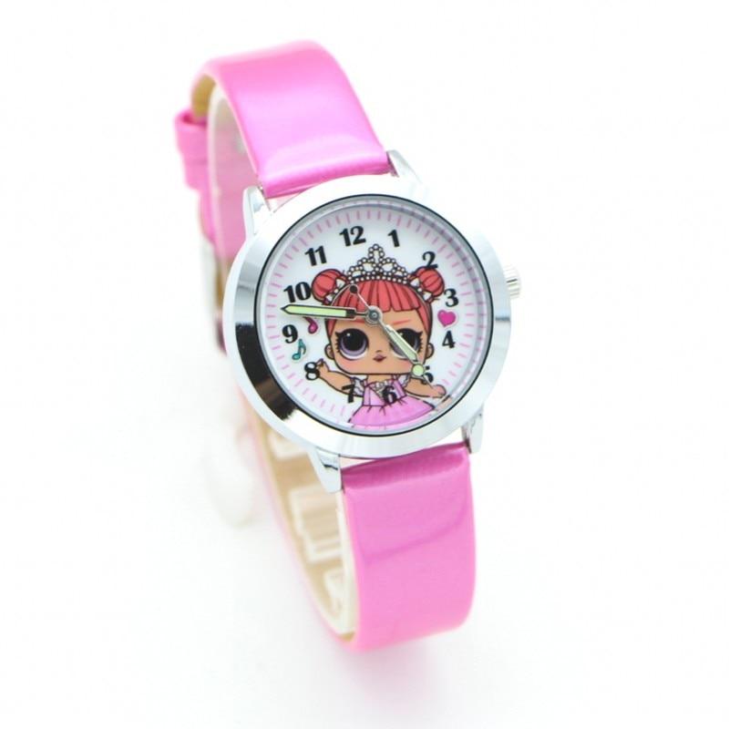 2018 New Fashion cute girls design Children Watch Quartz Jelly Kids Clock boys Students Wristwatches Relogio kol saati clock