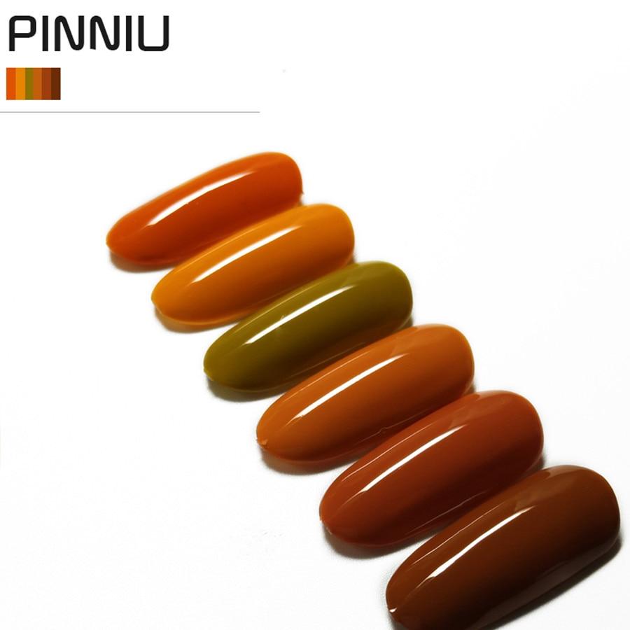 Molanda 150 Brown Neon ColorUV Gel Nail Polish UV LED Nail Gel ...