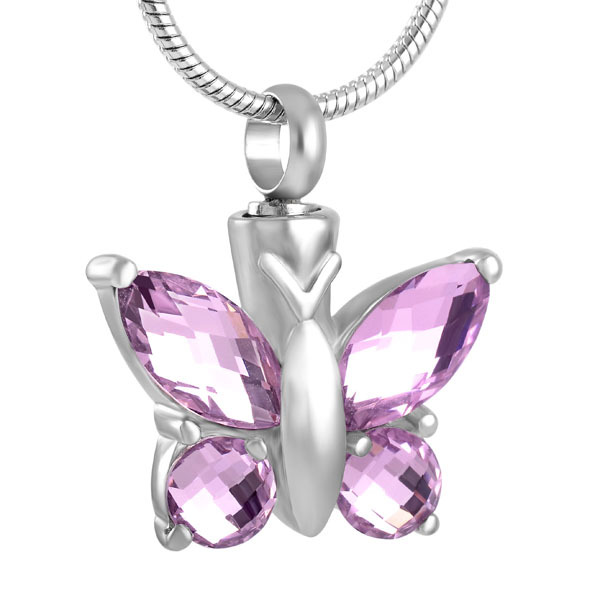 Memorial Butterfly Necklace